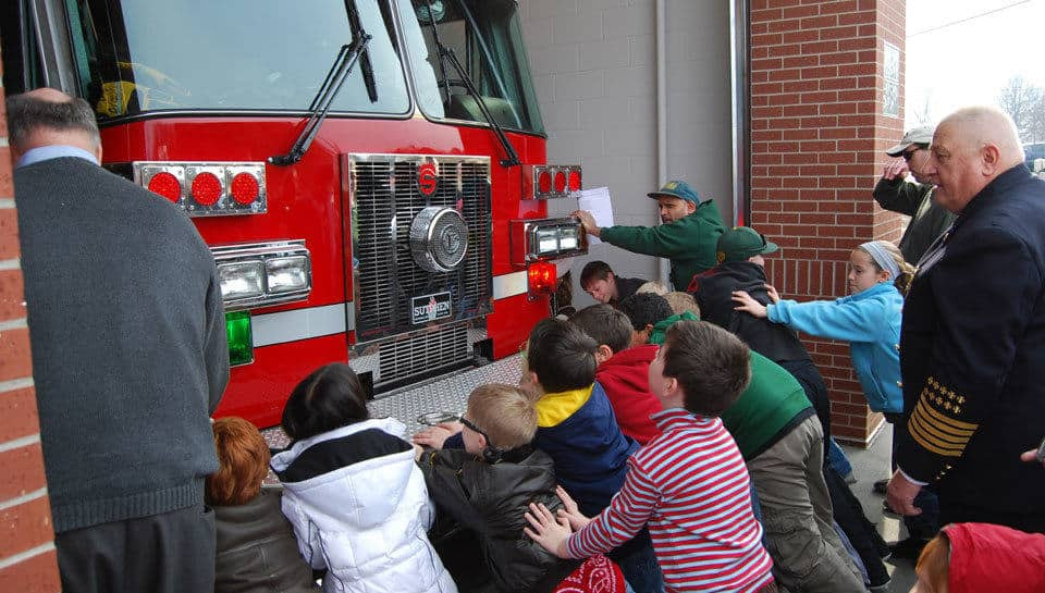 Grand Opening, Fire Station 7.