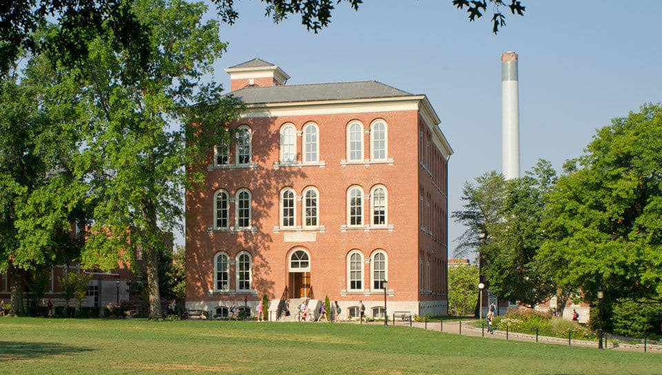 Switzler Hall may be the oldest classroom building on campus, but it has been revitalized into a state-of-the-art classroom/office facility.