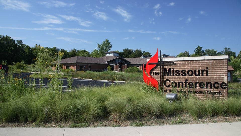 Missouri Conference Office of the United Methodist Church landscape design.