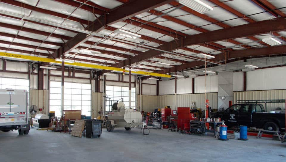 Industrial Facility Design - Columbia Parks and Recreation Vehicle Maintenance Facility.