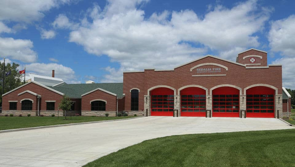 Project Categories Page - Sedalia Fire Department Headquarters, photo courtesy of City of Sedalia.