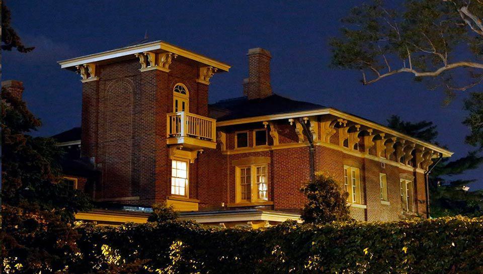 Residence on the Quadrangle, University of Missouri.