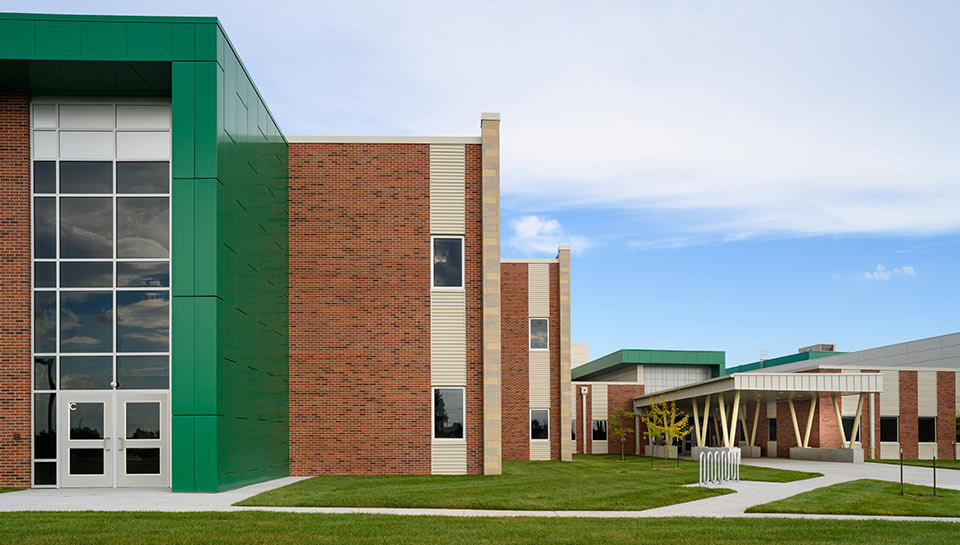 CPS-Middle School Exterior Entry Approach