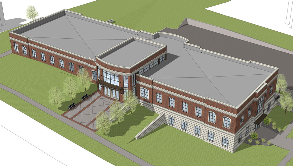 Central Methodist University Allied Health Building in Fayette, Missouri.